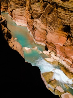Words cannot describe the beauty and the colors of the Havasupai River, so I won't even try.